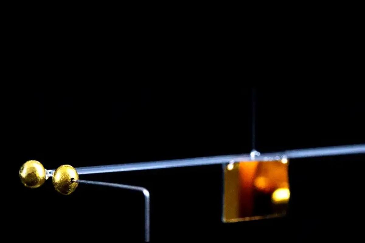 Pela 1ª vez na história, cientistas medem uma minúscula força gravitacional