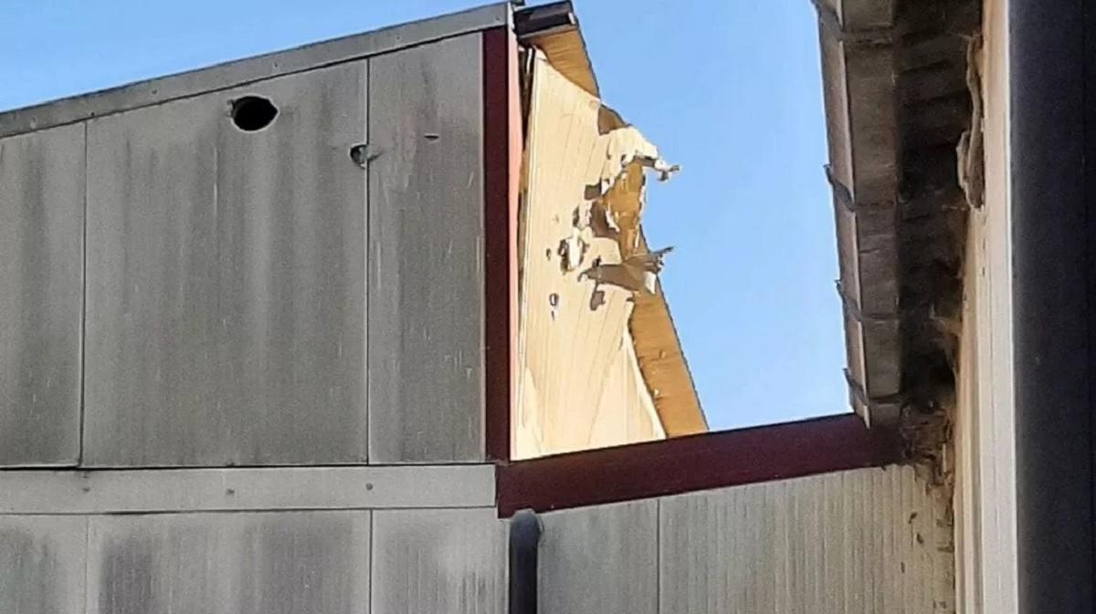Tanque de guerra acerta galinheiro na Itália