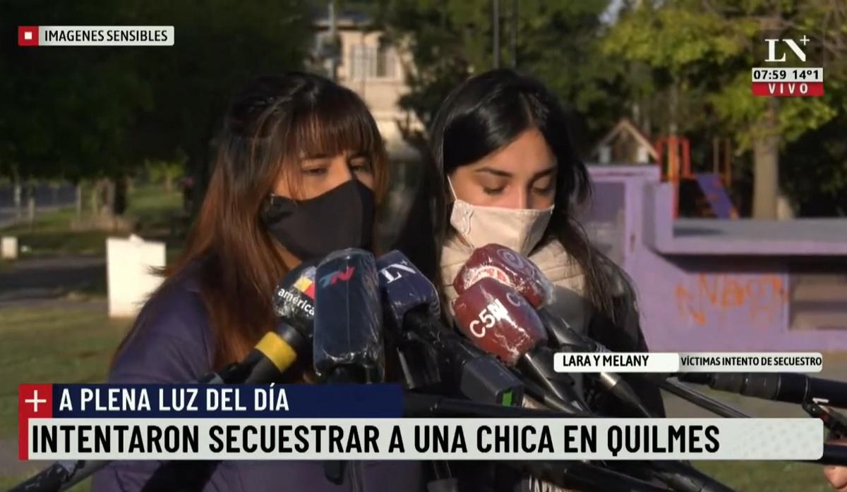 Vídeo flagra tentativa de sequestro durante o dia na Argentina