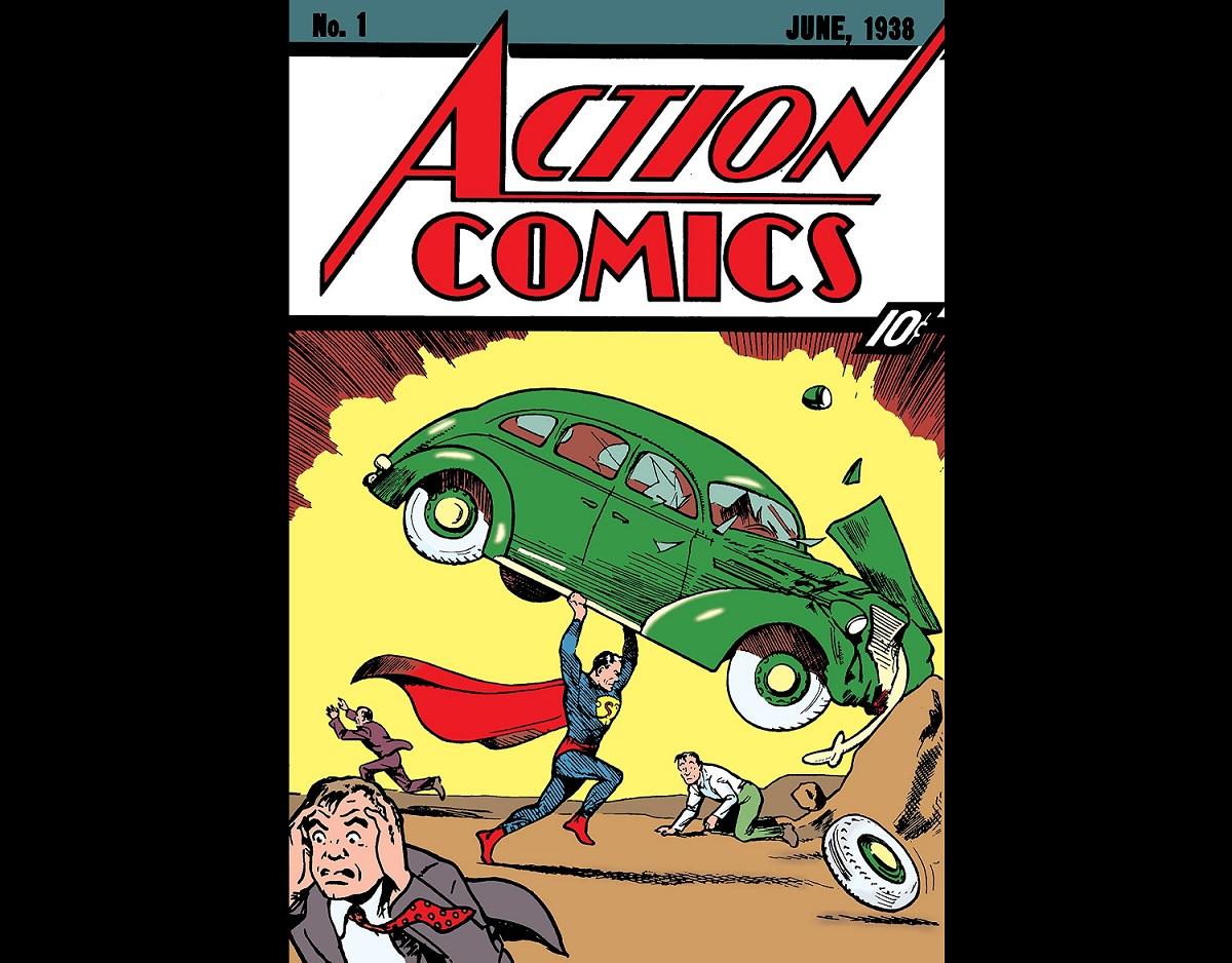 Revista do Superman bate recorde ao ser vendida por R$ 18 milhões