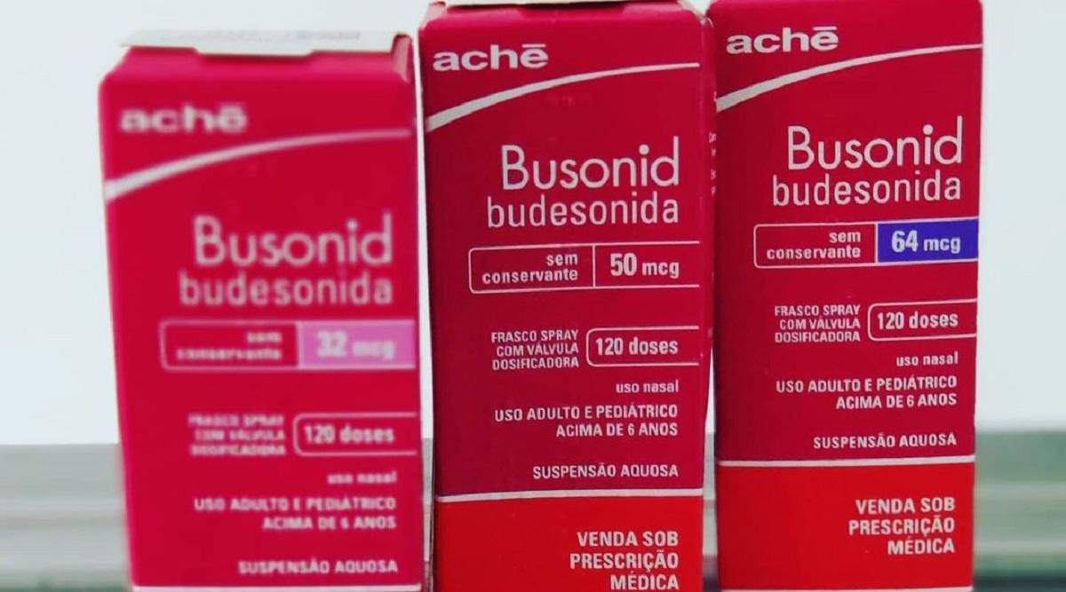 Estudo diz que Busonid ajuda a tratar covid-19 em casa