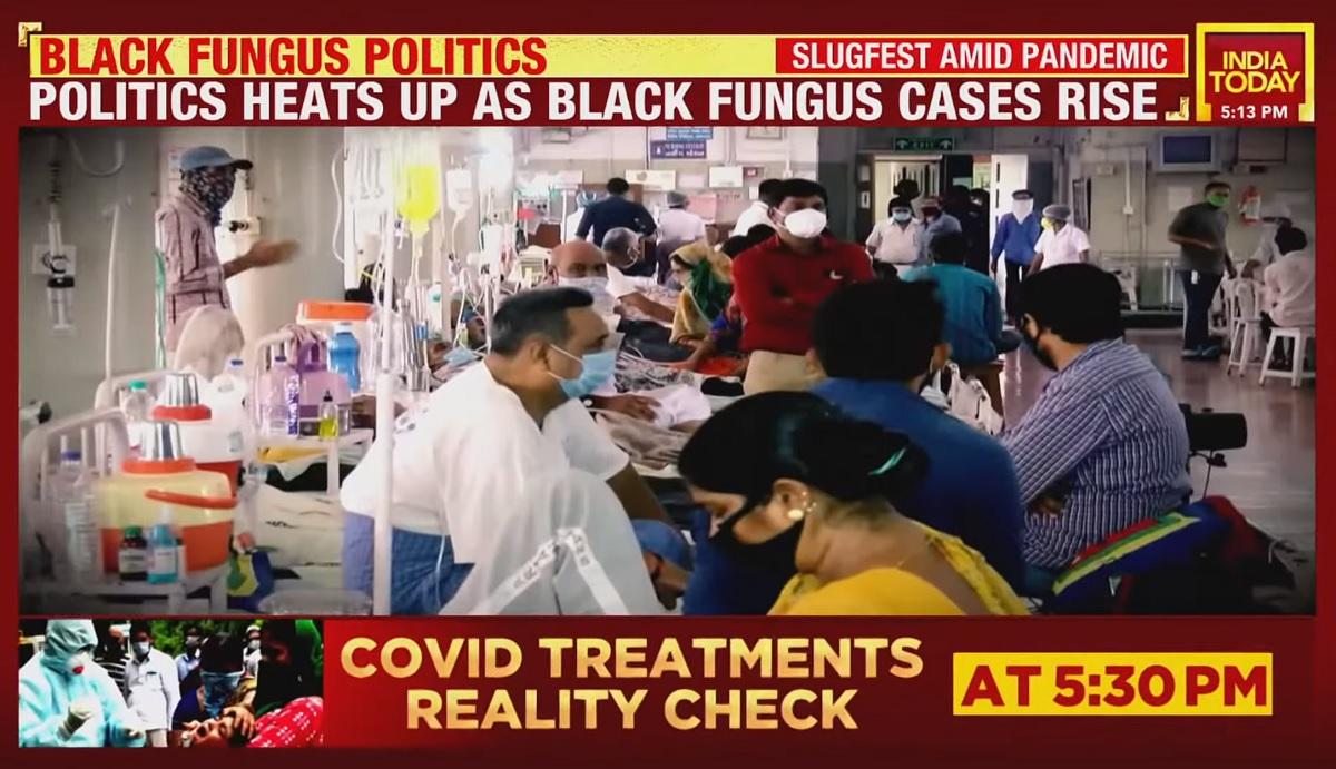 """""""Fungo branco"""" é a nova preocupação na Índia"""