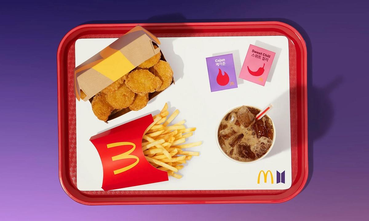 Conheça o lanche do McDonald's assinado pela banda BTS
