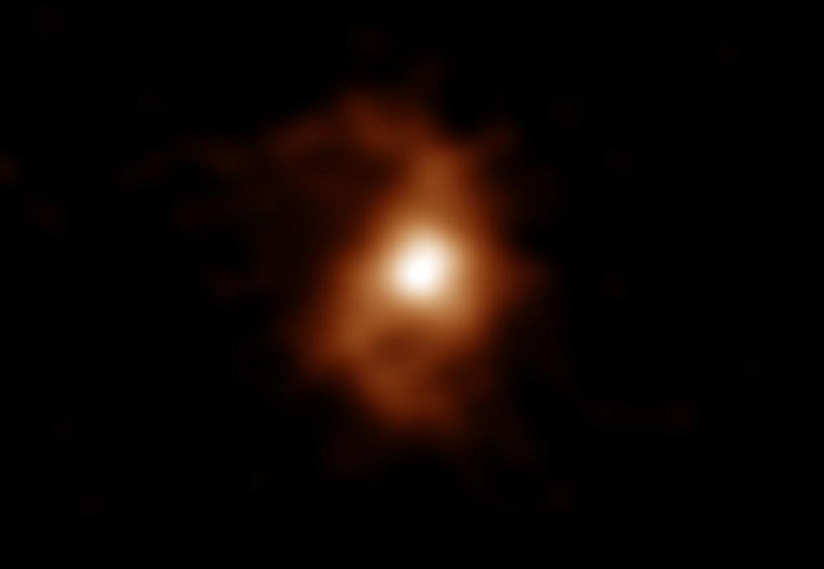 Observatório do Chile encontra a galáxia espiral mais antiga já descoberta