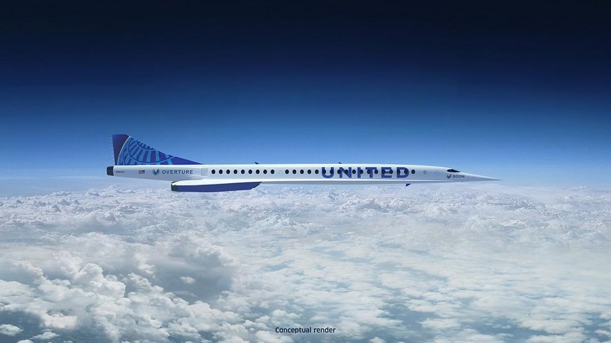 Avião supersônico deve voltar a transportar passageiros em 2029