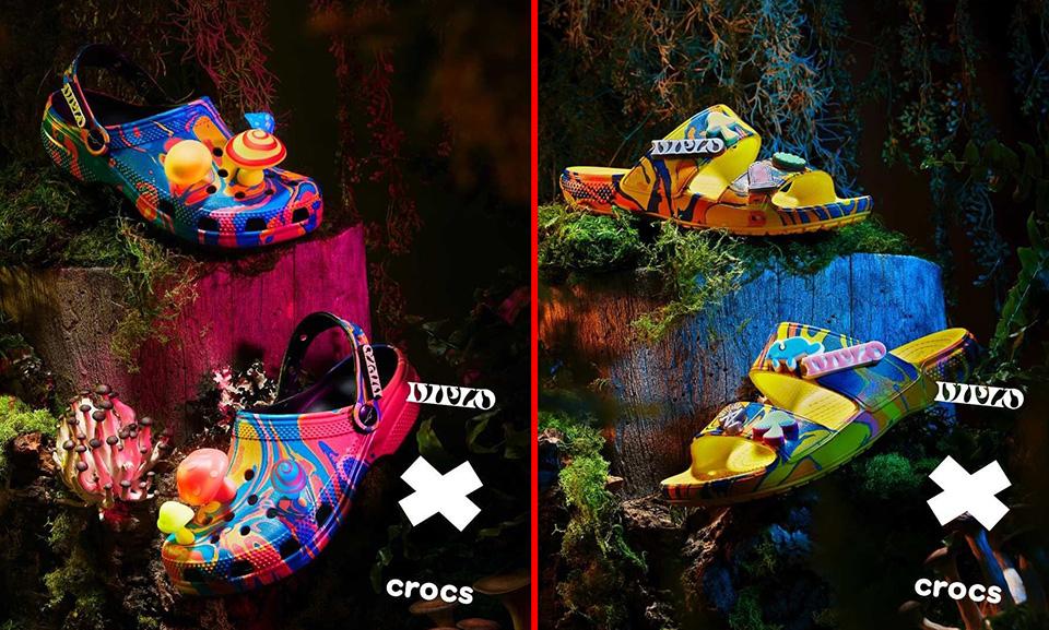 Esqueça o conforto: chegou a nova Crocs com salto alto