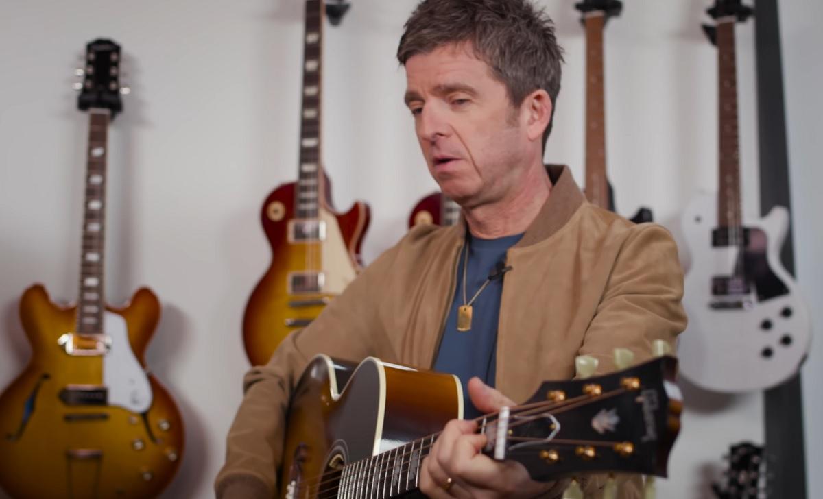 Gibson lança edição exclusiva do violão J-150 usado por Noel Gallagher