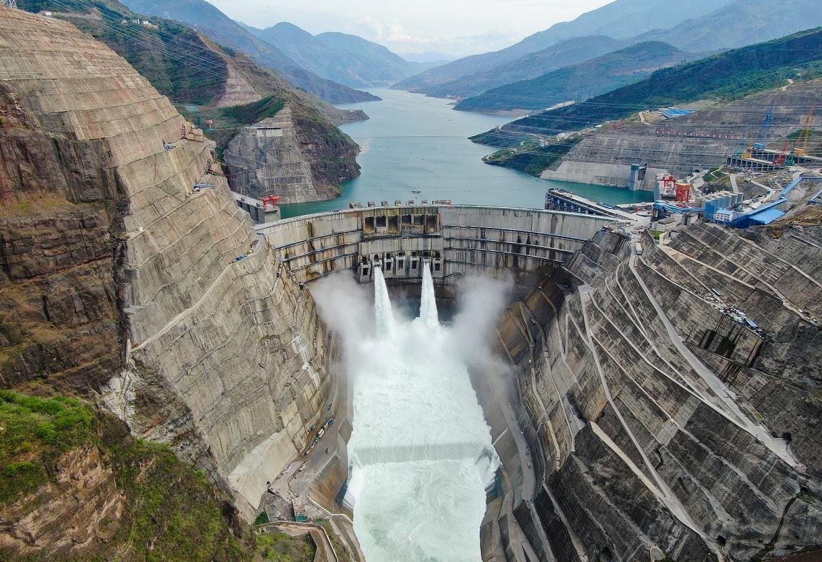 Segunda maior hidrelétrica do mundo é inaugurada na China