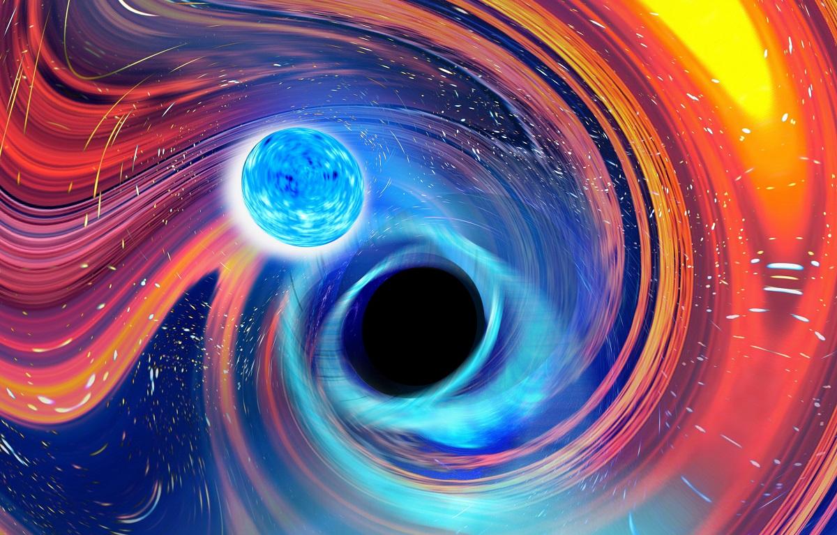 Astrônomos detectam pela 1ª vez colisões de buracos negros com estrelas de nêutrons