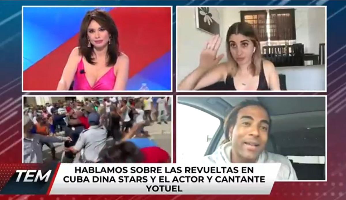 """Vídeo: youtuber cubana é """"presa"""" ao vivo durante entrevista a um canal da Espanha"""