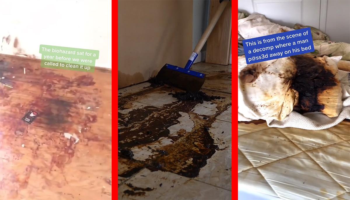 Bizarro: vídeos de limpeza de cenas de crime fazem sucesso no TikTok