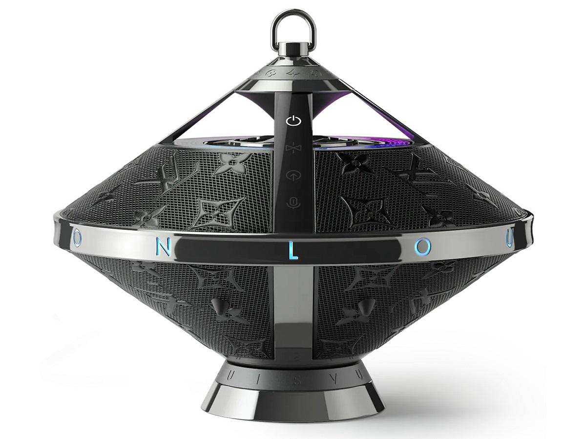 Louis Vuitton lança caixa de som com formato de óvni
