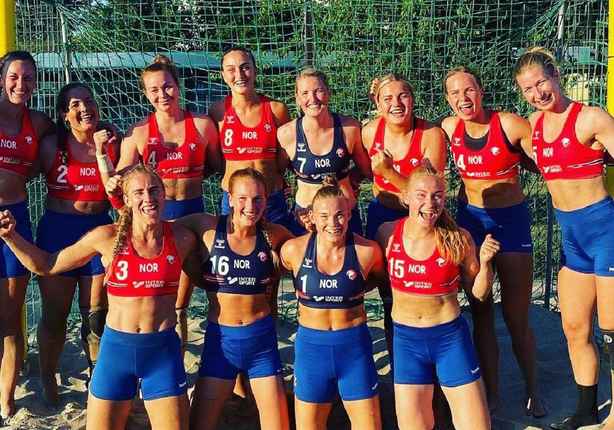Machismo? Atletas norueguesas são multadas por usar short em vez de biquíni