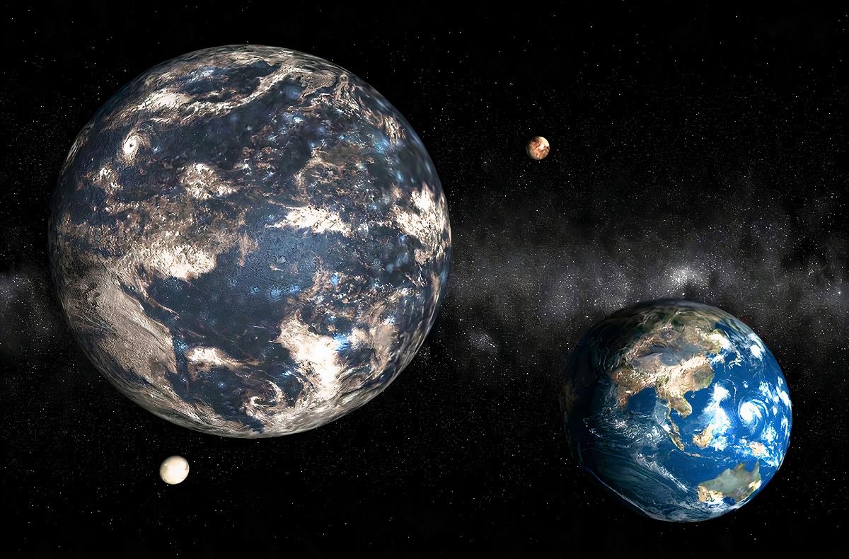 Sistema exoplanetário com 3 planetas, incluindo super-Terra, é descoberto por espanhóis