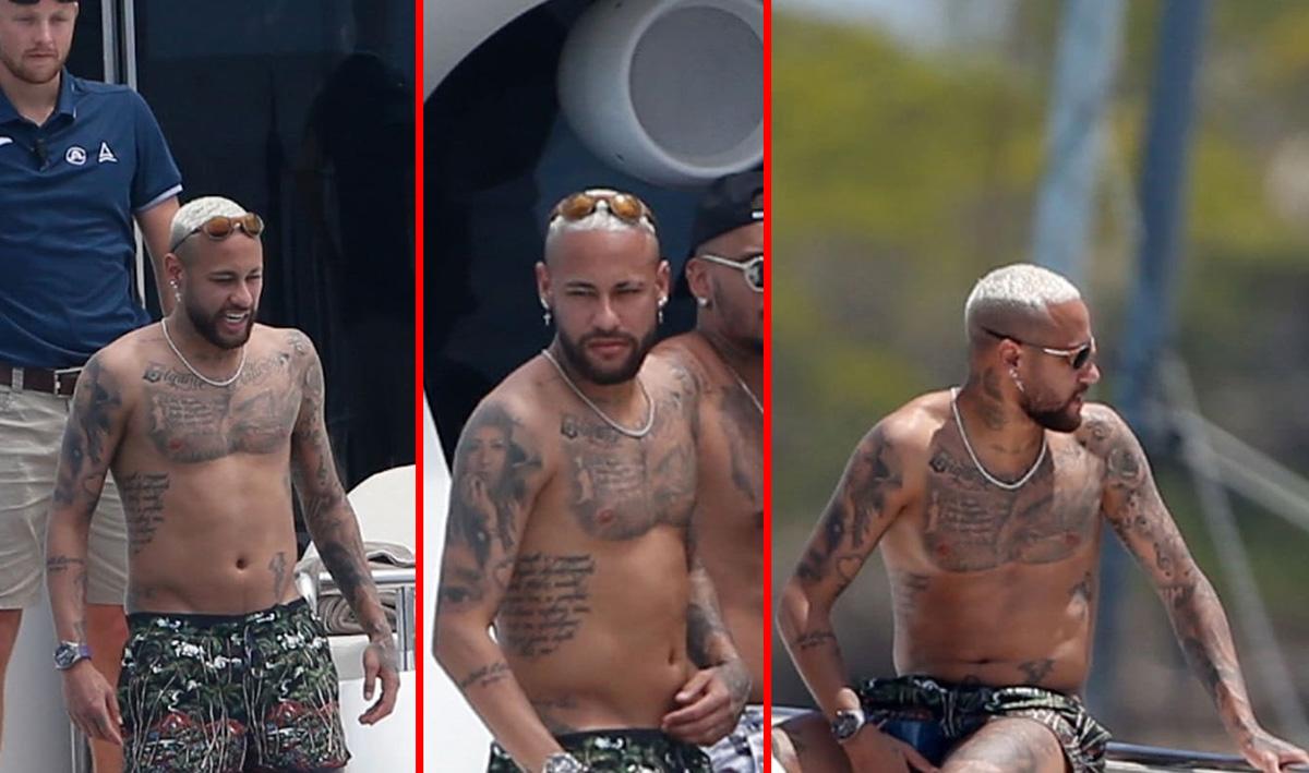 """Barriga """"saliente"""" do Neymar chama a atenção dos internautas"""