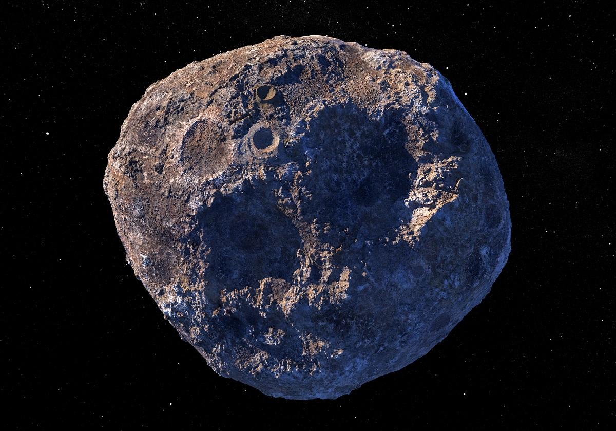 Asteroide metálico 16 Psyche pode valer R$ 52,3 quintilhões