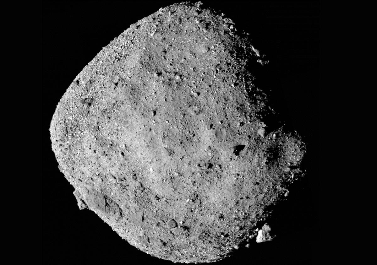 Asteroide Bennu poderia colidir com a Terra entre 2100 e 2200