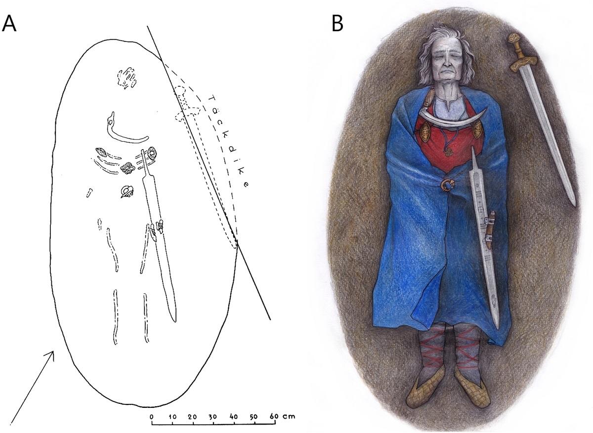Túmulo medieval na Finlândia pertence a uma pessoa não-binária, diz estudo