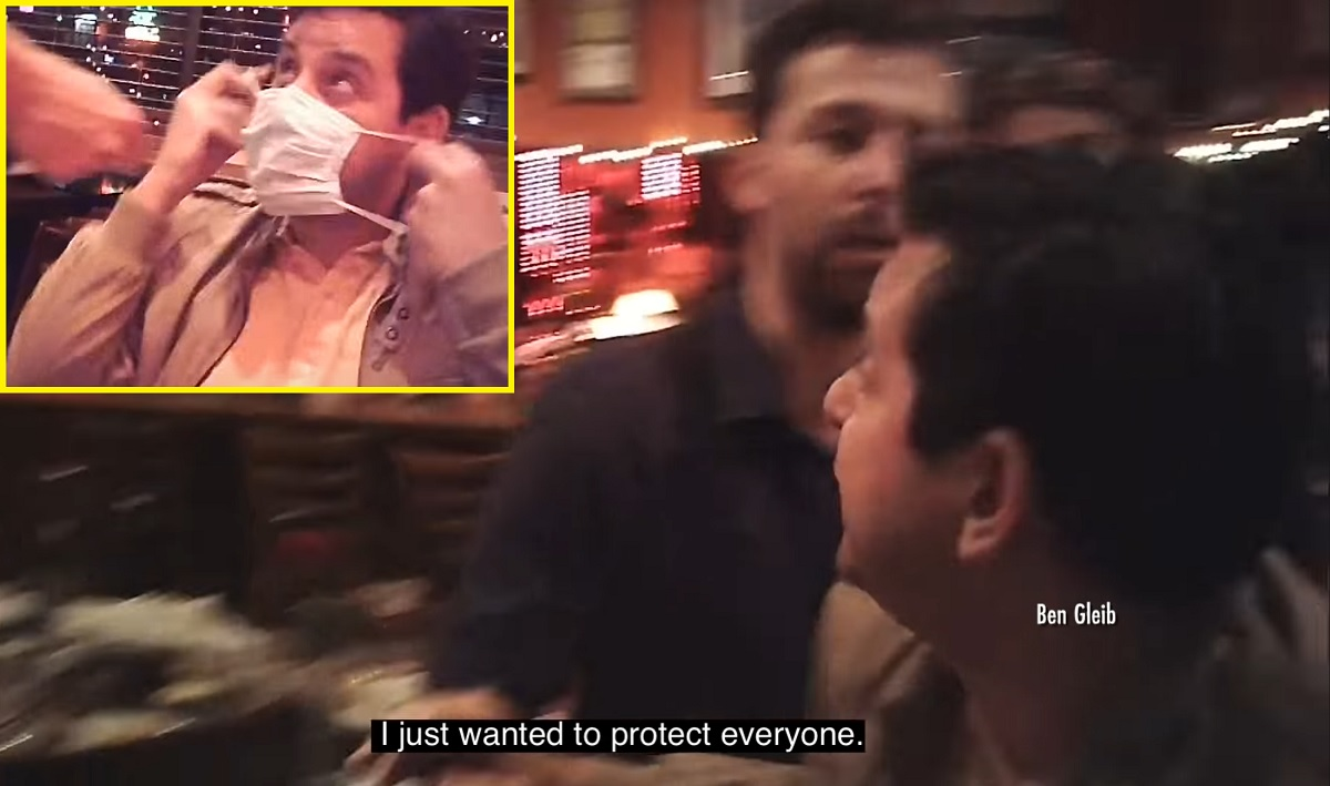 Restaurante antivacina dos EUA obriga clientes a não usarem máscara