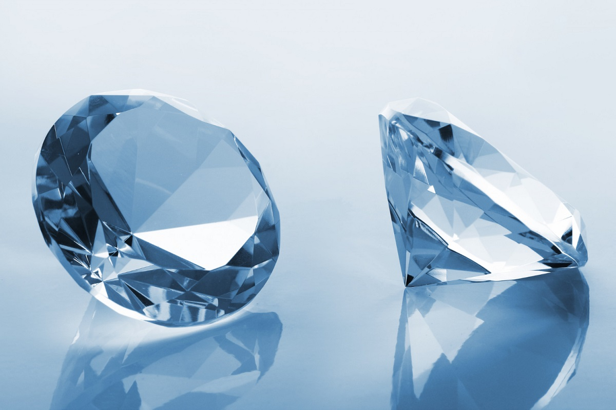 """Raros diamantes """"orgânicos"""" são encontrados a 400 km da superfície"""