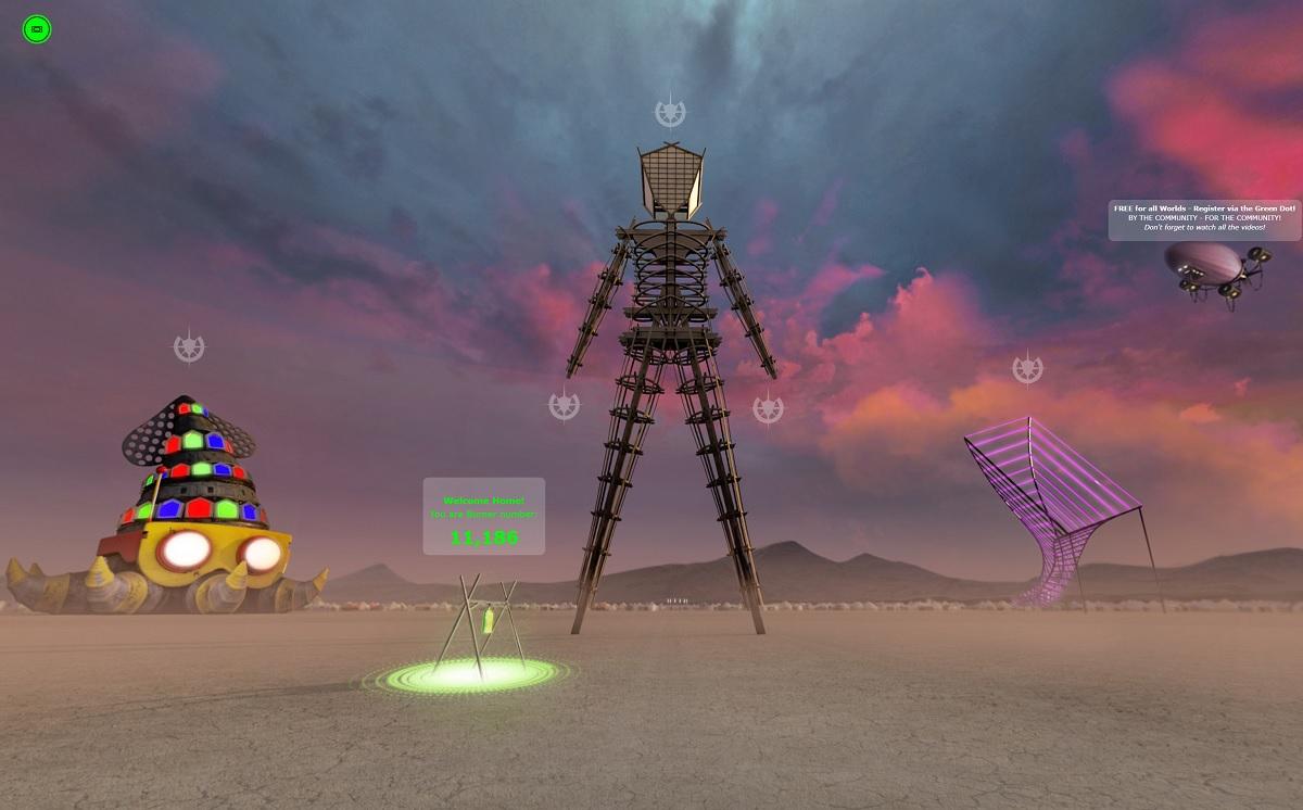 """Festival Burning Man """"não oficial"""" deve atrair 20.000 pessoas"""