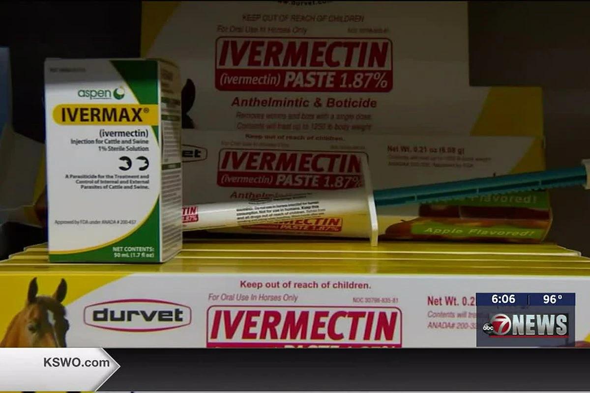 Moradores do interior dos EUA estão tomando superdosagem de ivermectina
