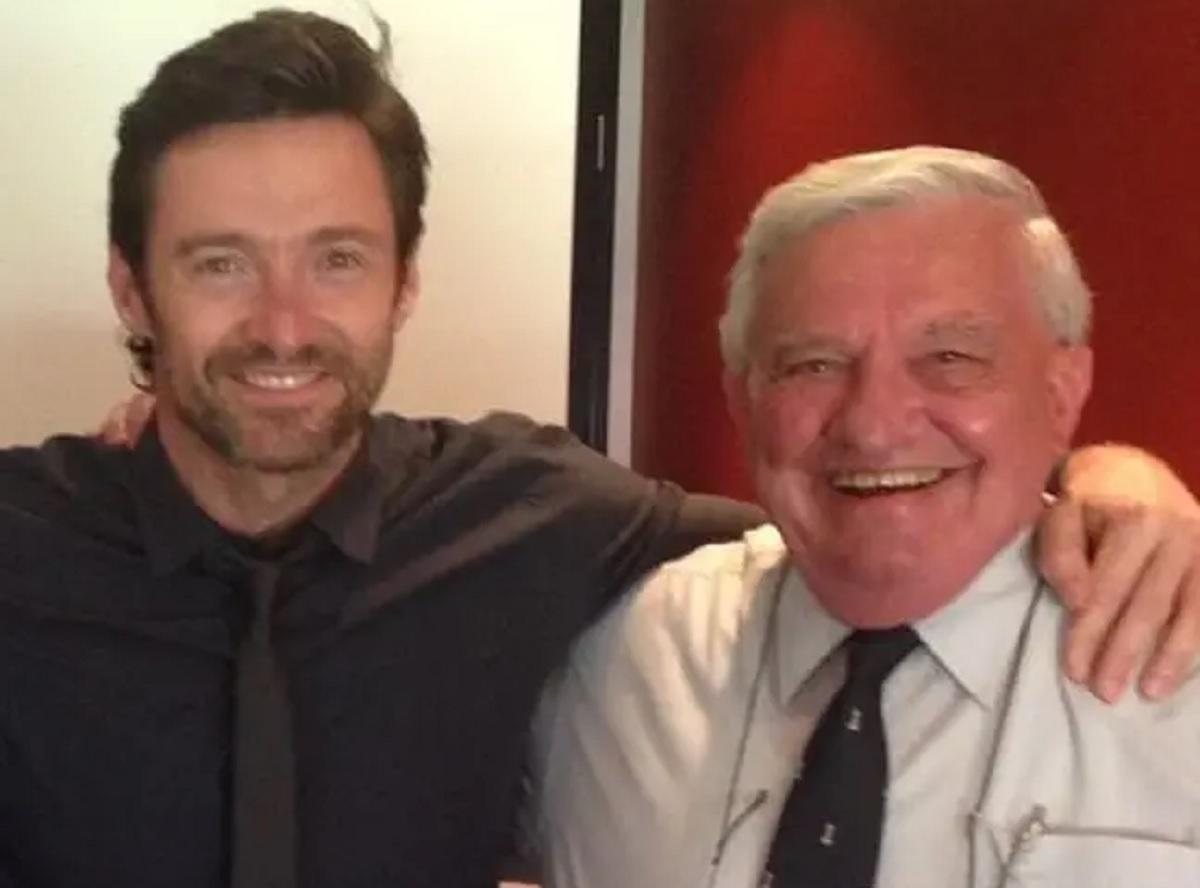 Ator Hugh Jackman anuncia a morte de seu pai Christopher