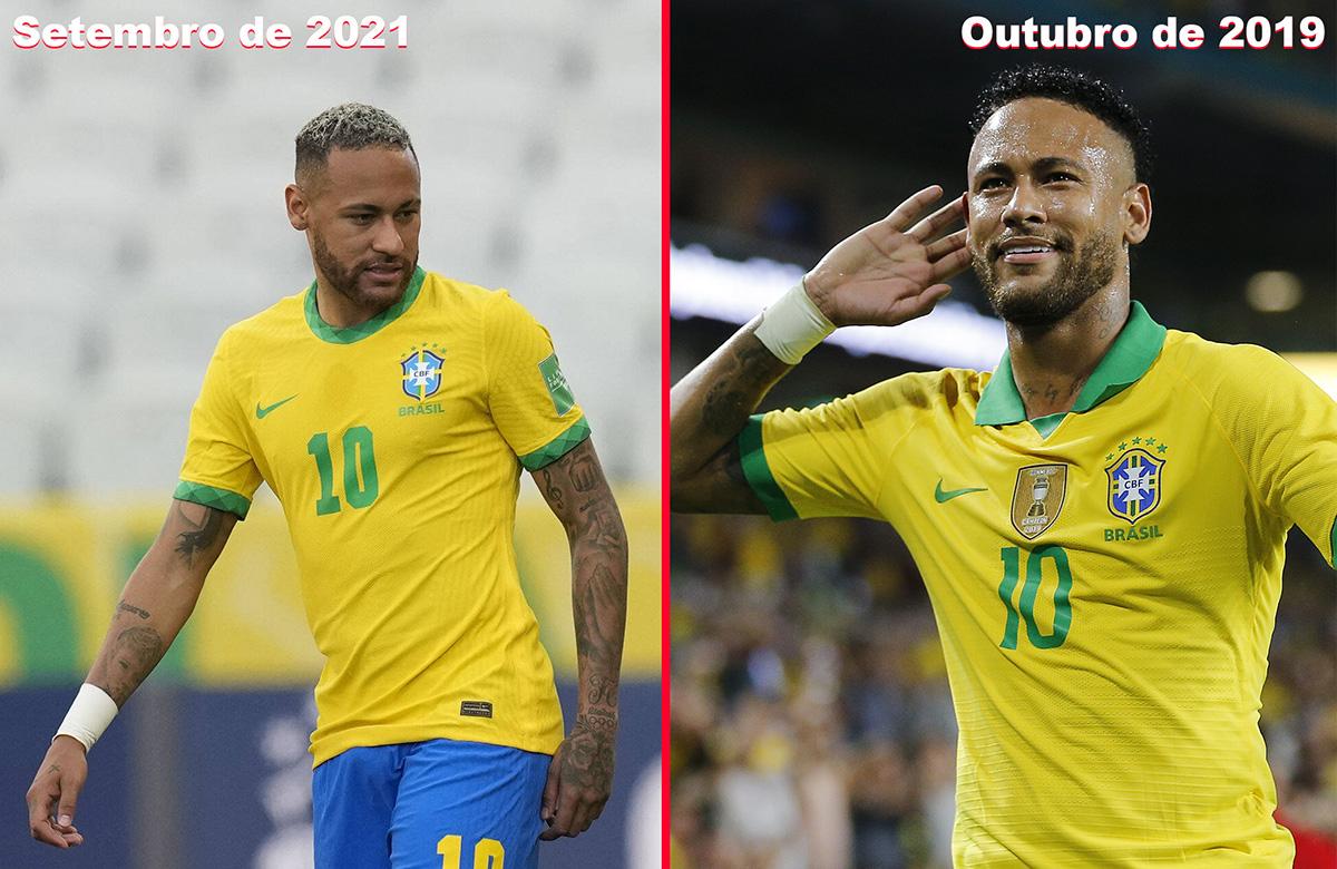 Você acha que o Neymar está acima do peso?