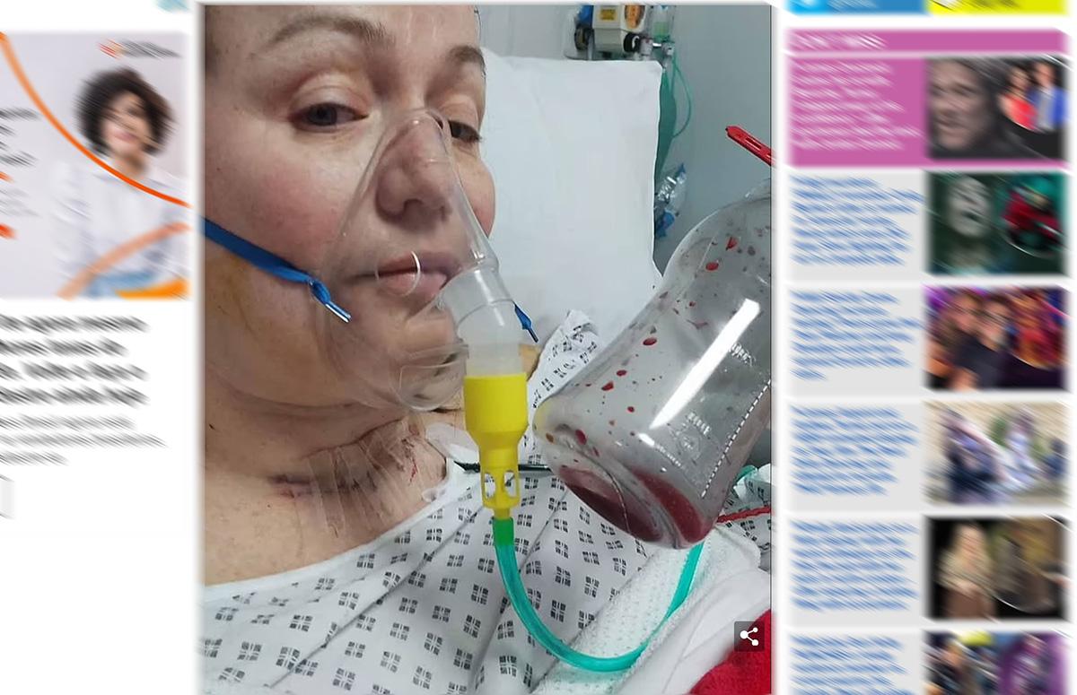 """Britânica diz ter sido """"salva"""" do câncer pela covid-19"""