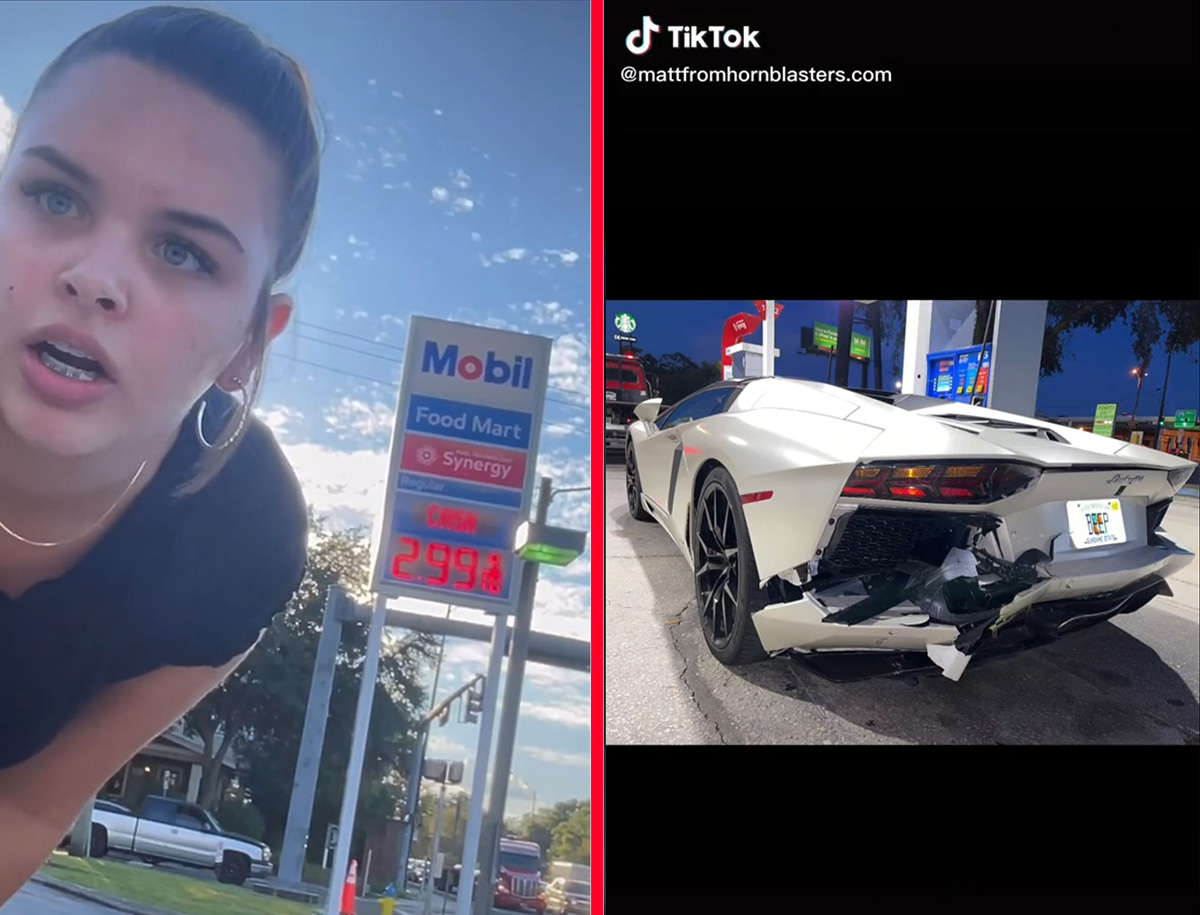 VÍDEO: batida entre Lamborghini e Audi nos EUA se torna viral no TikTok