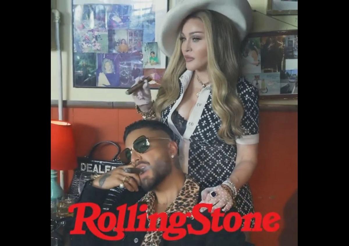 """Madonna e Maluma estão """"juntos"""" de novo após Medellín"""
