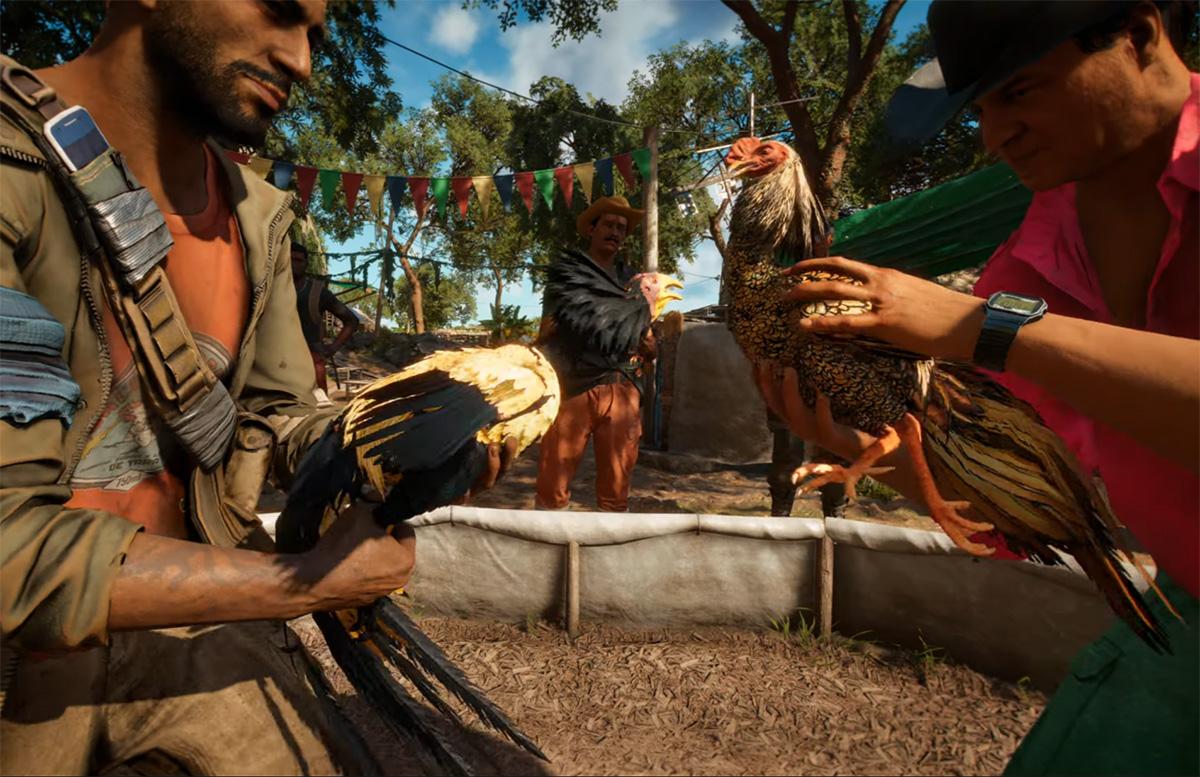 Defensores dos animais criticam briga de galo em jogo da Ubisoft