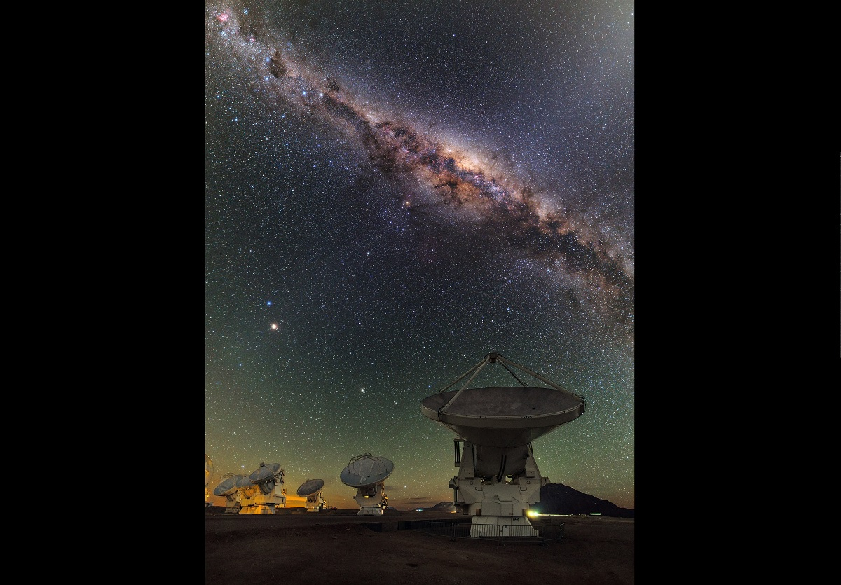 Descoberto objeto misterioso no centro da Via Láctea